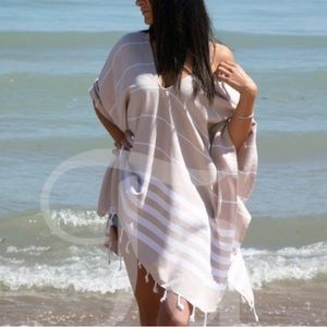 Brand New * Turkish Cotton Beach Kimono Coverup